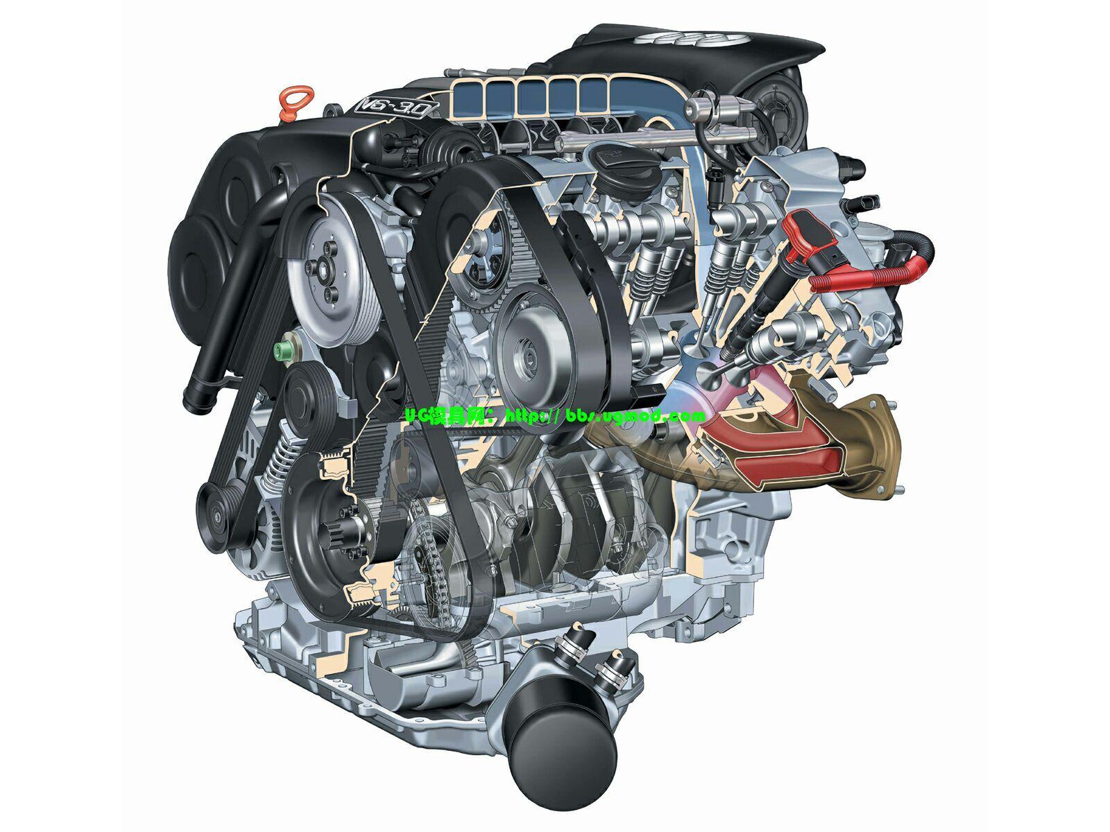 各种类型汽车发动机各种类型汽车发动机 Discuz UG模具网 -各种类型高清图片