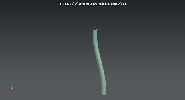 维建模中绘制弯形状的波纹管唐老师,请问能不能在三维实体中把图